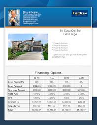 Real Estate Brochure Templates by New Flyer Concept Mortgage Real Estate Flyer Turnkey Flyers