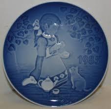 grondahl childrens day plate 1985 magical tea ebay