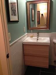 Powder Room Cabinets Vanities Powder Room Redo Revealed Powder Room Sinks And Room Makeovers