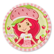 strawberry shortcake party supplies strawberry shortcake party plates party supplies 8 per