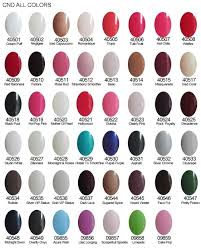 cnd gel nail polish colors u2013 great photo blog about manicure 2017