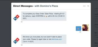 i ordered domino s with a pizza emoji and it took three hours eater