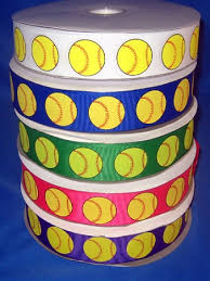 fastpitch softball ribbon all colors from 1 95 a yard