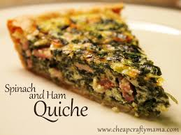 Spinach Quiche With Cottage Cheese by Spinach And Ham Quiche I Love Making Quiche But Saw This Beauty