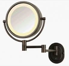 wall mounted makeup mirror with lighted battery battery operated wall mounted lighted makeup mirror open travel