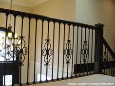 sketch of wrought iron stair railings for creating awesome looking