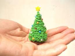 crocheted tree decoration