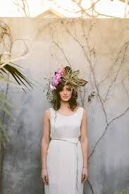 floral headdress diy flower headdress