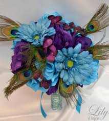 Turquoise Corsage 17 Piece Package Wedding Bridal Bride Maid Of Honor Bridesmaid