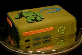halo 3 special edition birthday cake