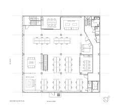 Floor Plan Of A Warehouse Heavybit Industries Iwamotoscott Architecture Archdaily