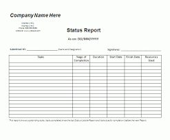 daily work report template daily status report template futuristic picture lexgstein inside