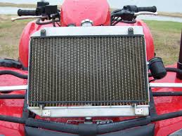 relocated king quad radiator and snorkles high lifter forums