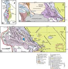 Montana Usa Map by Evolution Of The Cordilleran Foreland Basin System In Northwestern