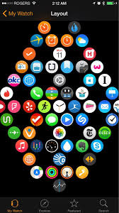 scientifically perfect way to organize your apple watch apps