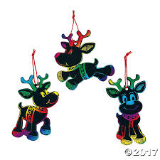 Christmas Decorations Reindeer by Christmas Ornament Crafts Diy Ornaments Holiday Ornament Kits