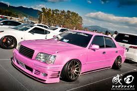 pink glitter car event g edition show u2013 fuji speedway