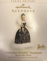 2006 hallmark celebration barbie christmas ornament 7th in the