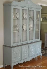 Vintage China Cabinets Vintage Bassett China Cabinet Gets A New Life Hometalk