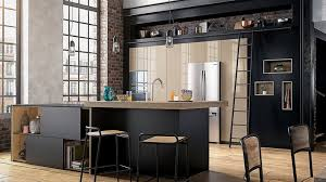 cuisine beige laqué meuble de cuisine noir et blanc comment changer de cuisine sans