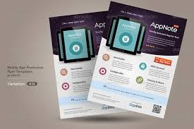 flyer design 30 effective web mobile apps flyer psd templates web graphic