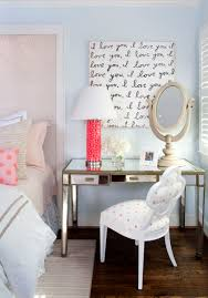 bedroom mirrored bedside table with make up mirror and unique