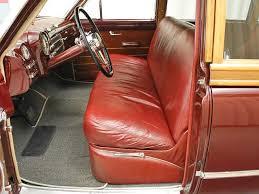 Buick Roadmaster Interior 1949 Buick Roadmaster Wagon Interior 1 View