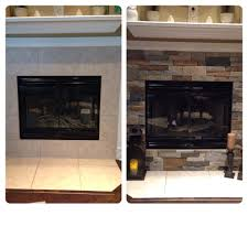 airstone remodel on my fireplace completely easy diy