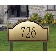 Whitehall Wall Mount Mailbox Whitehall Products Providence Artisan Metal Estate Address Plaque