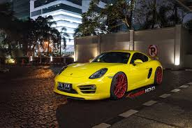 porsche matte red porsche cayman s adv7 m v2 cs polished red w matte clear