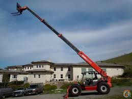 manitou 10k reach forklift crane for sale in san francisco