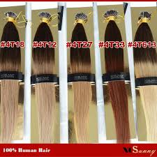 wholesale hair extensions wholesale xcsunny nano ring remy hair extensions 18 201g s ombre