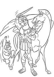 cartoon coloring pages hercules printable cartoon coloring pages