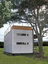 Tiny Container Homes 20 U0027 Shipping Container With A Rooftop Deck And Room For Four