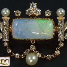opal necklace vintage images Antique and vintage opal jewelry collectors weekly jpg