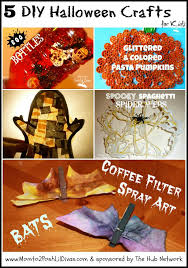 Childrens Halloween Craft Ideas - mom to 2 posh lil divas 5 diy halloween crafts for kids