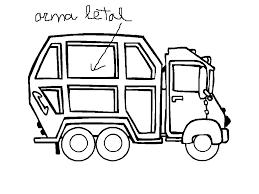 cool garbage truck coloring pages printable gekimoe u2022 50167