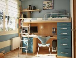 Unique Desks For Small Spaces Bed And Desk Combo Teens Loft Bedroom Ideas Teenage Bedroom