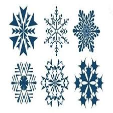online shop the new design fashion snowflake tattoo body art