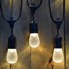 outdoor led patio string lights outdoor lighting décor and fixtures lighting and chandeliers