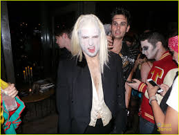 mark salling u0026 ashley madekwe party it up for halloween photo