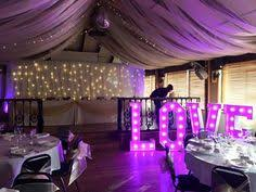 wedding backdrop hire essex light letters wedding venue decorators light up letters