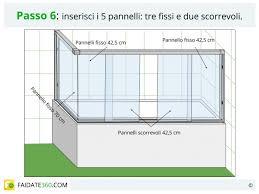 pannelli per vasca da bagno parete doccia per vasca tipologie materiali costi e montaggio