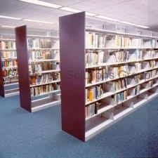 Bookshelves Library Library Book Shelves Bookstack Storage Shelving Metal Bookcase