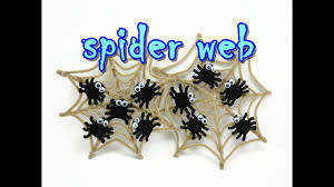 pipe cleaner tutorial halloween spider web home decor youtube