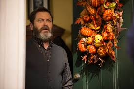blue bloods thanksgiving first look nick offerman is ready for thanksgiving on brooklyn