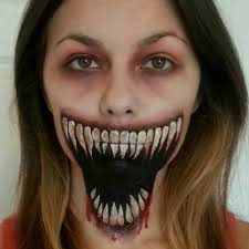 halloween makeup masks genius make up mask me pinterest scary halloween makeup