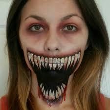 genius make up mask me pinterest scary halloween makeup