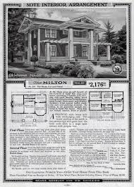 Sears Homes Floor Plans by Sears Modern Homes Number 210 A Colonial Bungalow Oklahoma
