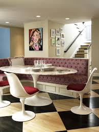 saarinen tulip dining table oval couch potato company